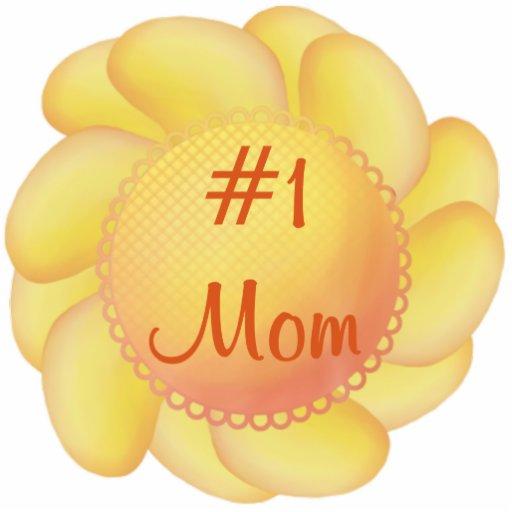 Mamá #1 (flores amarillas) fotoescultura vertical