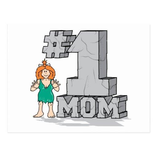 Mamá #1 postales