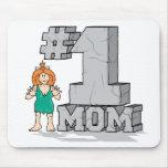 Mamá #1 tapete de raton