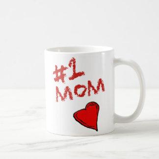 Mamá #1 taza clásica
