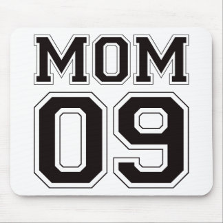 Mamá 2009 - Negro Alfombrillas De Raton