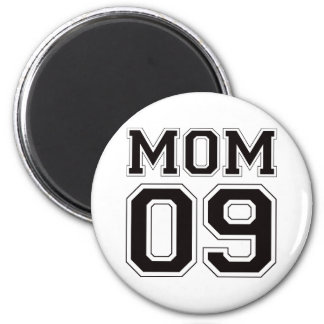 Mamá 2009 - Negro Imán Redondo 5 Cm