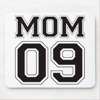 Mamá 2009 - Negro Alfombrilla De Raton