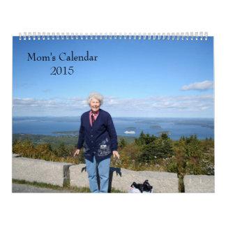 Mamá 2015 calendario
