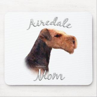 Mamá 2 de Airedale Terrier Alfombrilla De Raton