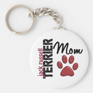 Mamá 2 de Jack Russell Terrier Llaveros