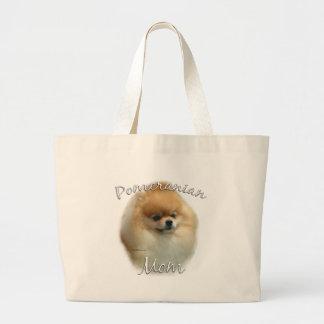 Mamá 2 de Pomeranian Bolsas De Mano