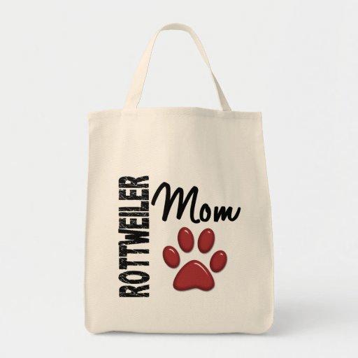 Mamá 2 de Rottweiler Bolsas De Mano