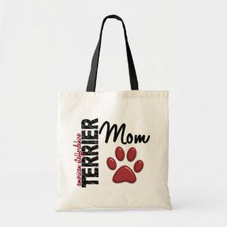 Mamá 2 de Staffordshire Terrier americano Bolsa Tela Barata