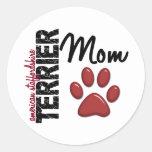 Mamá 2 de Staffordshire Terrier americano Pegatina