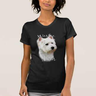 Mamá 2 de Terrier blanco de montaña del oeste Tee Shirts