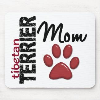 Mamá 2 de Terrier tibetano Mouse Pads