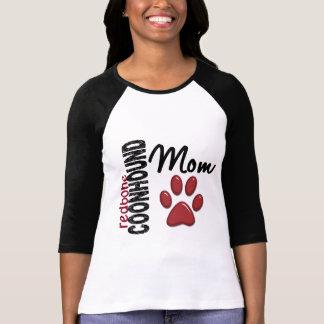 Mamá 2 del Coonhound de Redbone Camiseta