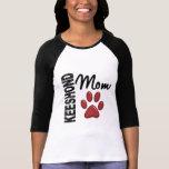 Mamá 2 del Keeshond Camiseta
