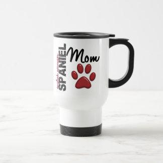 Mamá 2 del perro de aguas de saltador inglés taza de café