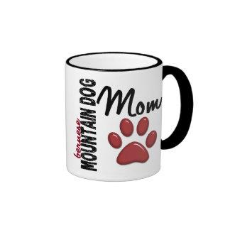Mamá 2 del perro de montaña de Bernese Taza De Café