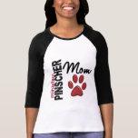 Mamá 2 del Pinscher miniatura Camisetas