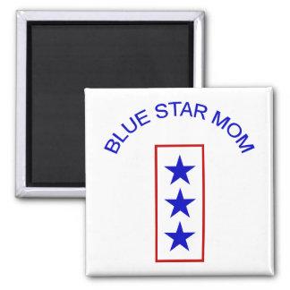 Mamá 3 de la estrella azul imanes