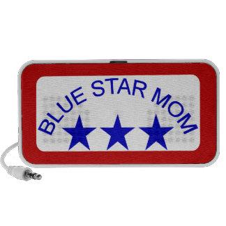 Mamá 3 de la estrella azul portátil altavoces