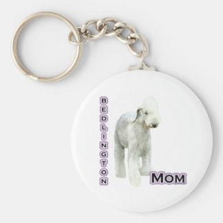 Mamá 4 de Bedlington Terrier - llavero