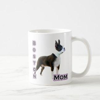 Mamá 4 de Boston Terrier Taza Clásica