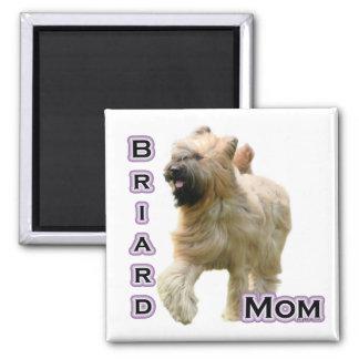 Mamá 4 de Briard - imán