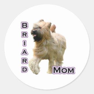 Mamá 4 de Briard - pegatina