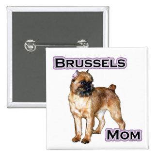 Mamá 4 de Bruselas - botón