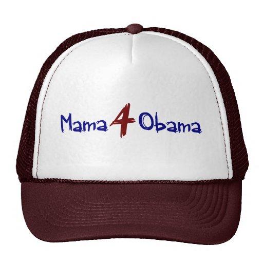 Mamá 4 Obama (2) Gorras
