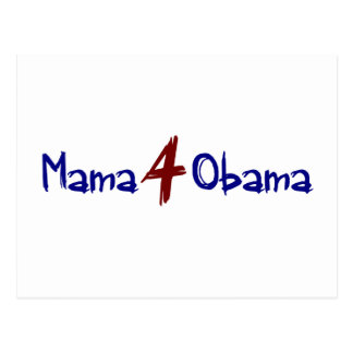 Mama 4 Obama Postcard