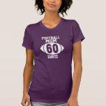 Mamá 60 del fútbol camiseta
