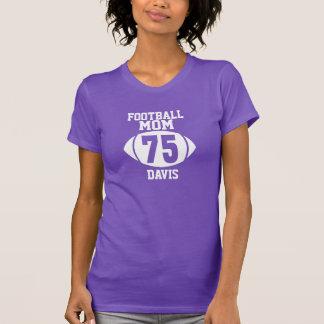 Mamá 75 del fútbol camiseta