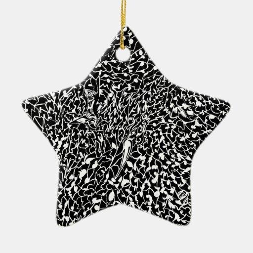 mamá 90.a 043.jpg adorno navideño de cerámica en forma de estrella