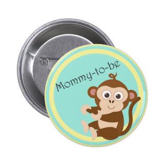 Mamá-a-es el botón pin redondo de 2 pulgadas