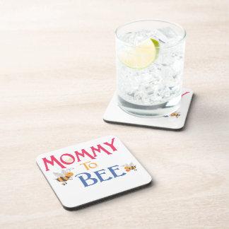 Mamá a ser bienes de origen posavasos de bebida
