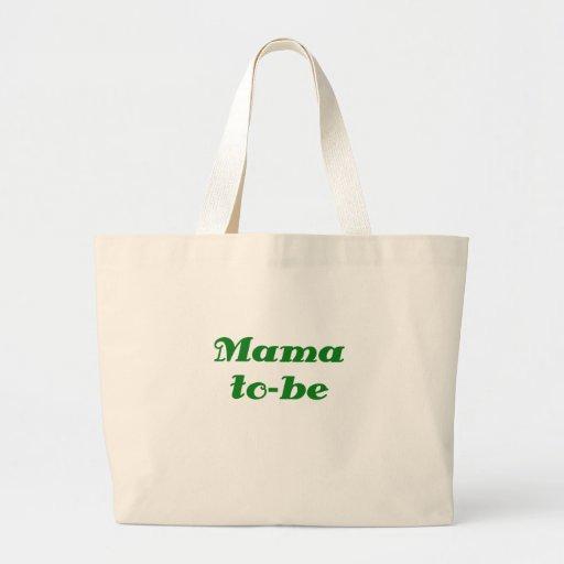 Mamá a ser bolsas de mano