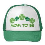 Mamá a ser gorra irlandés del trébol de la hoja de
