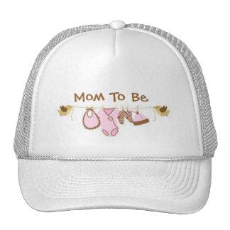 Mamá a ser gorras