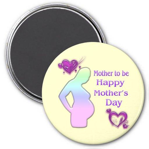 Mamá a ser imán del día de madre