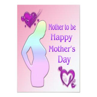 Mamá a ser invitación del día de madre