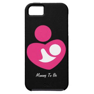 Mamá a ser (personalizable) funda para iPhone 5 tough
