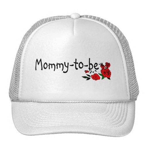 Mamá a ser rosas gorras