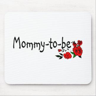 Mamá a ser rosas tapete de raton