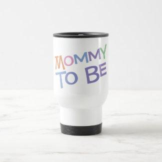 Mamá a ser taza de viaje