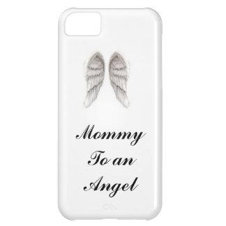 mamá a una cubierta del iphone del ángel funda para iPhone 5C