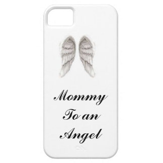 mamá a una cubierta del iphone del ángel iPhone 5 carcasa
