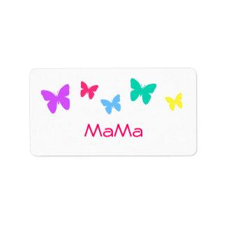 MaMa Address Label