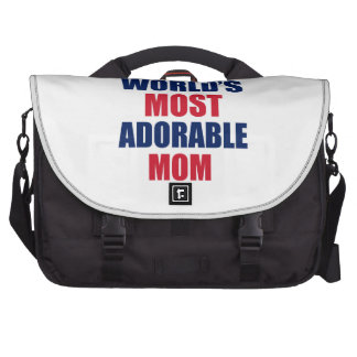 Mamá adorable bolsa de ordenador