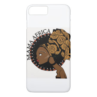 MAMA AFRICA iPhone 7 CASE WHITE