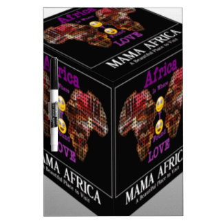 Mama African ethnic tribal pattern Dry Erase Board